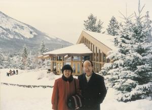 楊牧谷牧師與師母