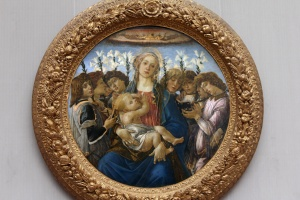 Madonna with Child and Singing Angels, Sandro Botticelli, c. 1477