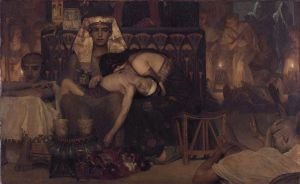 The Death of the Pharaoh's Firstborn, Lawrence Alma-Tadema, 1872
