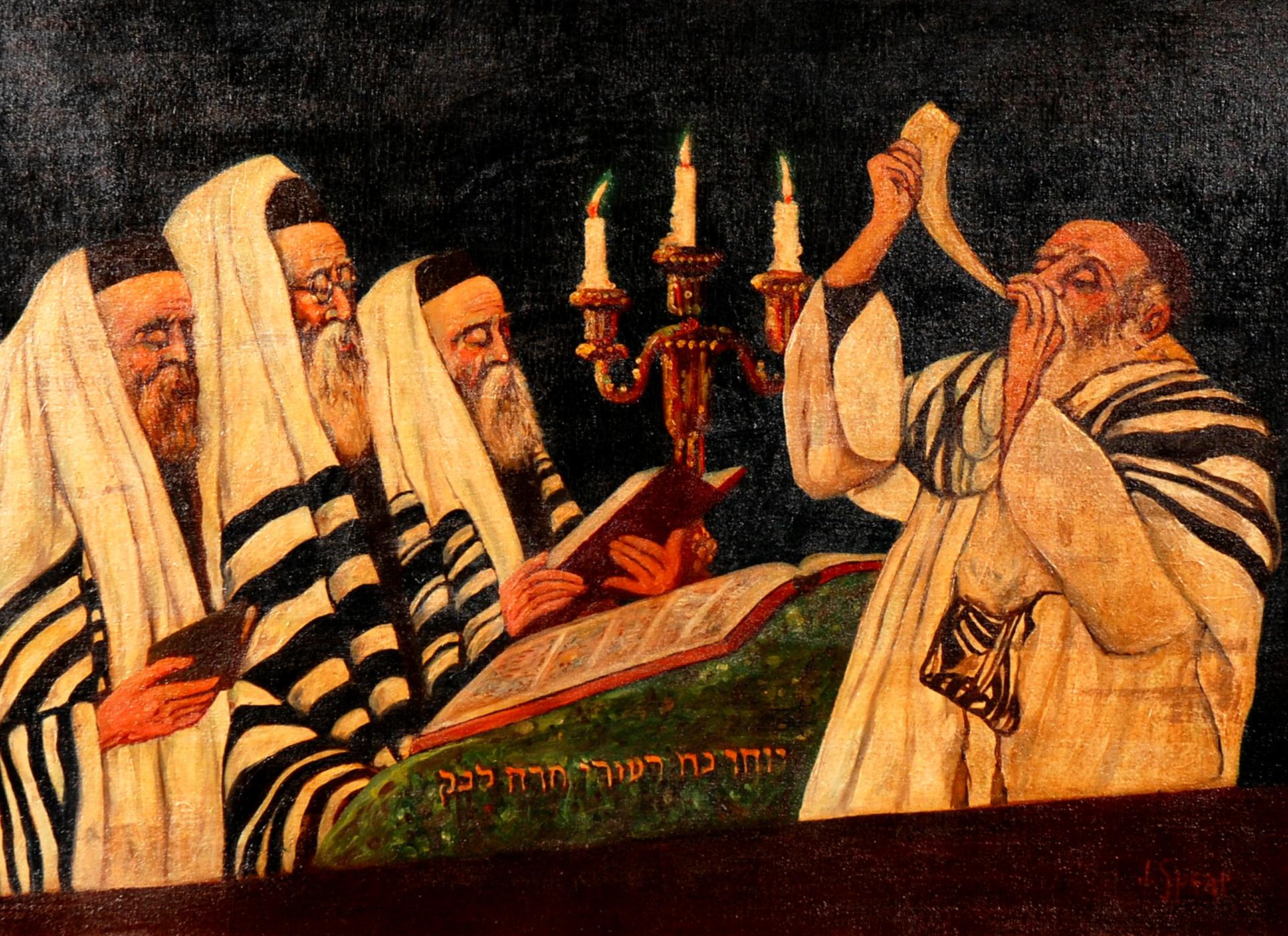 九月:猶太人新年(Rosh Hashanah) – 有人寫字